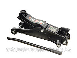 RF-T825010R(2.5т в кейсе) ROCKFORCE Домкрат подкатной гидравлический 2.5т низкопрофильный с поворотной ручкой