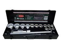 "RF-6161-9 ROCKFORCE Набор инструментов 16 предметов 3/4"" 12гр.(17,19,21,24,27,30,32,33,36,41,46,50) ROCKFORCE"