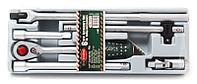 """RF-T40612 ROCKFORCE Набор инструментов 6 предметов,1/2"""" (трещотка, удлинители, воротки, кардан) в лотке"""