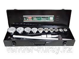 """RF-6141-5 ROCKFORCE Набор инструментов 14 предметов 3/4"""" 6гр.(22,24,27,30,32,36,38,41,46,50), в кейсе"""