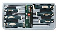 "RF-2068(New) ROCKFORCE Набор отверток магнитных ""Profi"" S2, 6 предметов (PH:1x75, 2x100, 3x150мм; SL 5.5х100,"