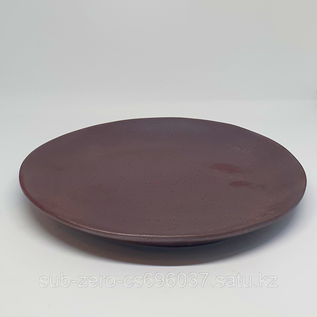Тарелка баклажановая
