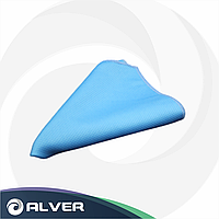 Тряпка микрофибра для окон, синяя