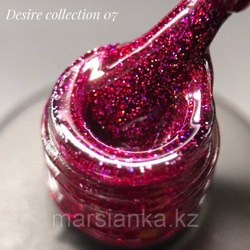 Гель лак BlooMax Desire collection №07, 12 мл