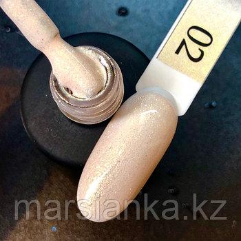 Гель лак  BlooMax Shine collection №2, 12 мл