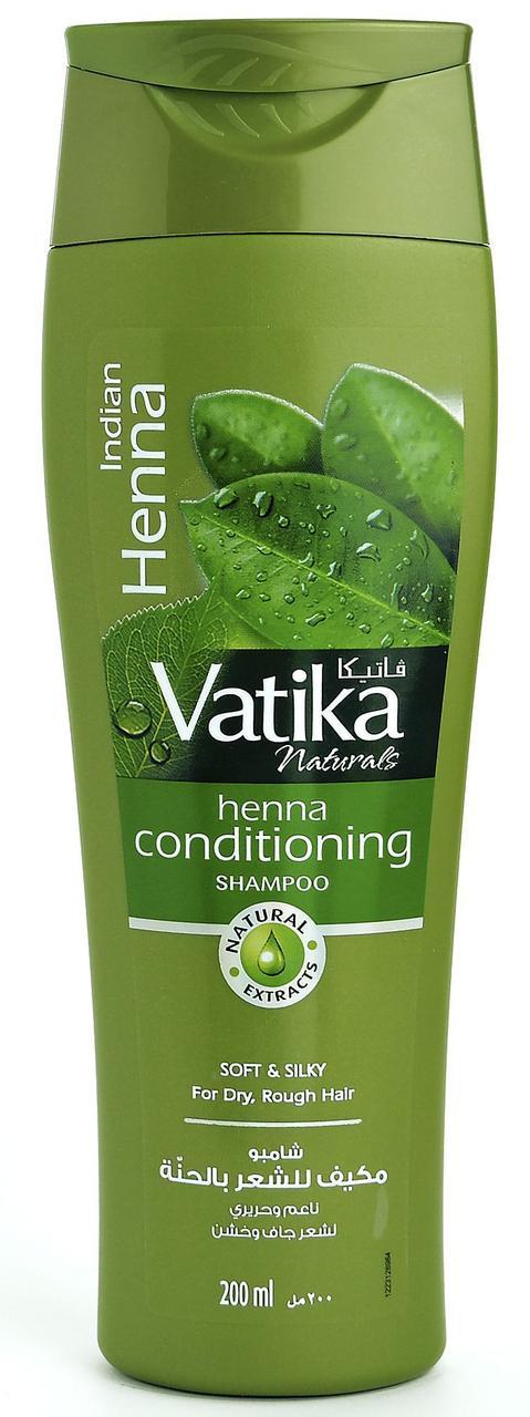 Vatika INDIAN HENNA Henna Conditioning Shampoo, Dabur