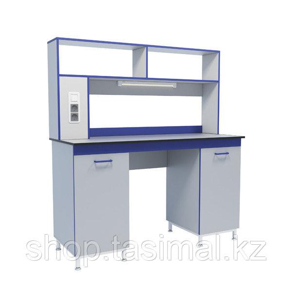 Стол лабораторный пристенный физический серии СТ.СПДф
