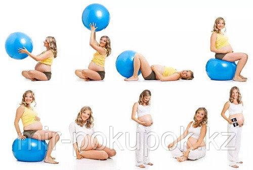 Мяч для фитнеса. Фитбол, диаметорм 75 см, Алматы - фото 7