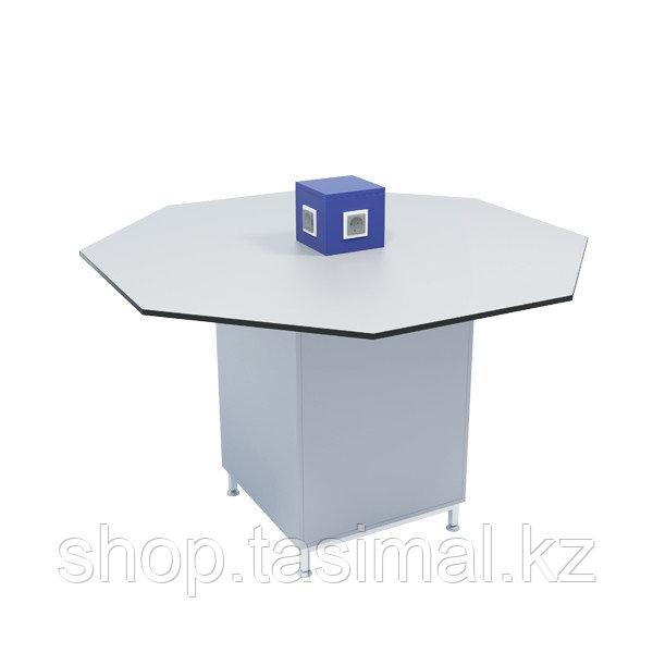 Островной лабораторный стол восьмиугольный серии СТ.СОВ