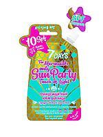 7DAYS / Крем для лица SUN PARTY TOUCH OF LIGHT Солнцезащитный SPF 10
