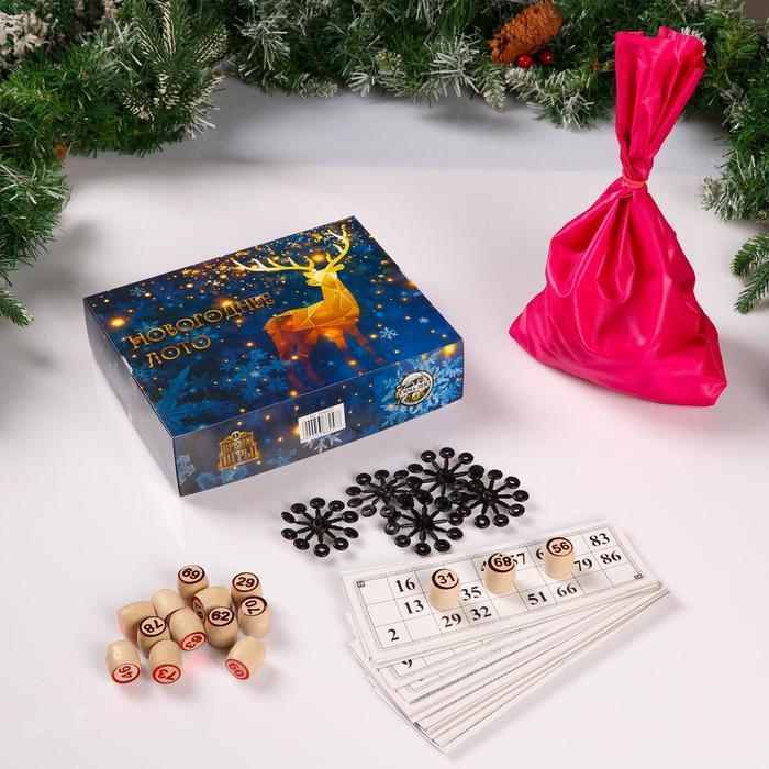 Настольная игра Новогоднее Лото
