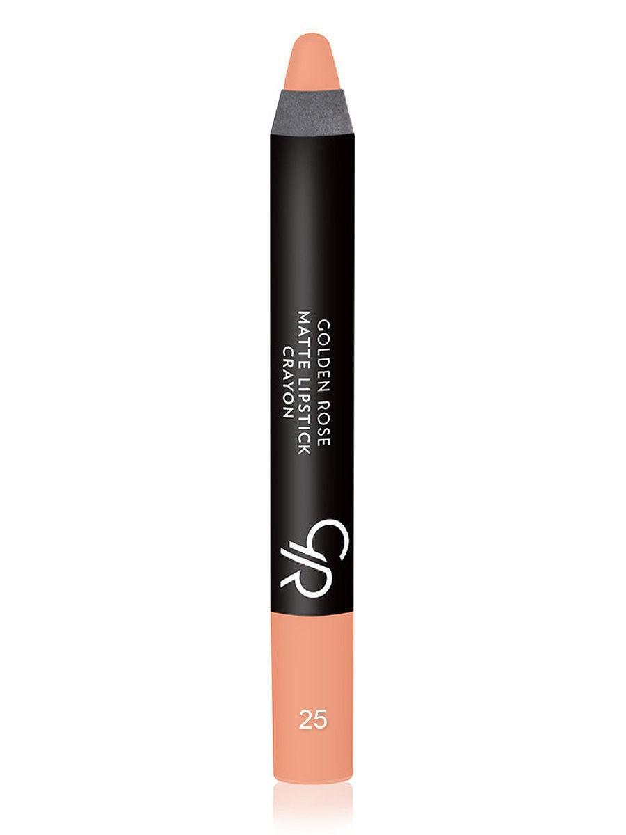 Помада-карандаш для губ Golden Rose Matte Lipstick Crayon оттенок 25