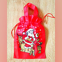 """Мешочек для подарков """"Дед мороз и дети"""", фото 1"""