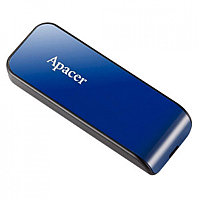 USB-накопитель, Apacer, AH334, AP64GAH334U-1, 64GB, USB 2.0, Синий