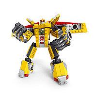Игровой конструктор, Ausini, 25519, Роботы, Гоночный автомобиль 3в1, 273 деталей, Цветная коробка