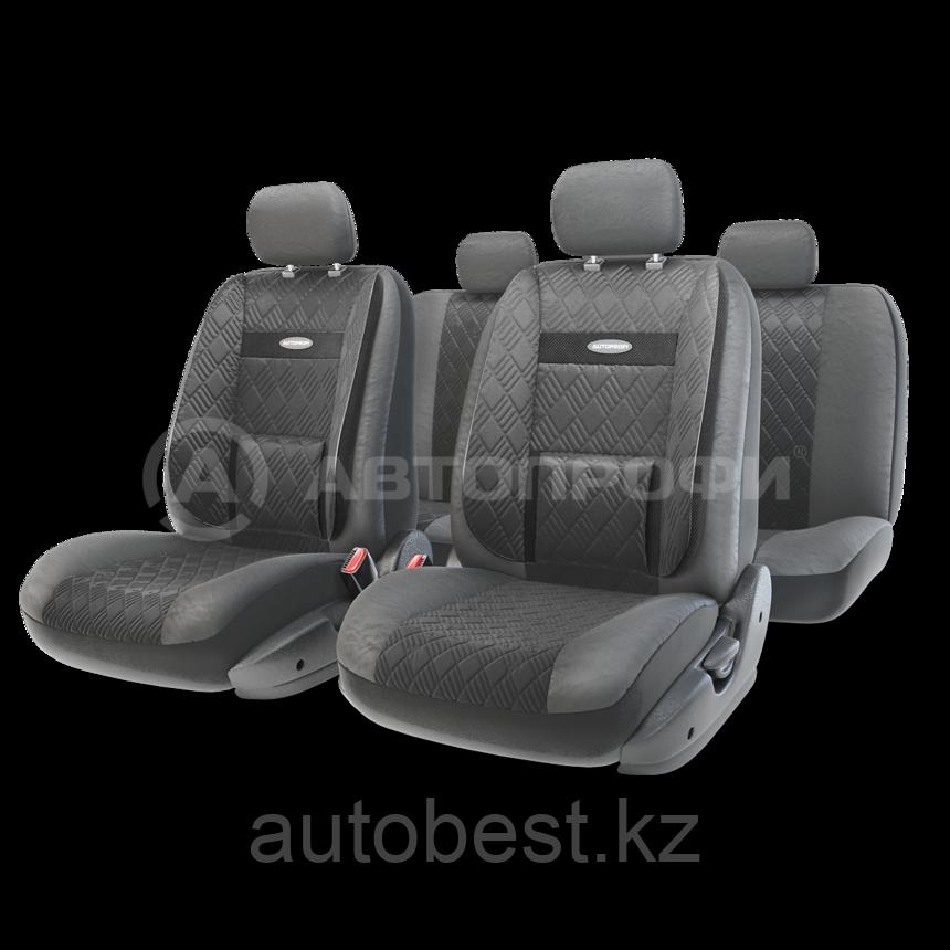 Чехлы на сиденья Comfort COM комбинированные с экокожей чехлы Автопрофи