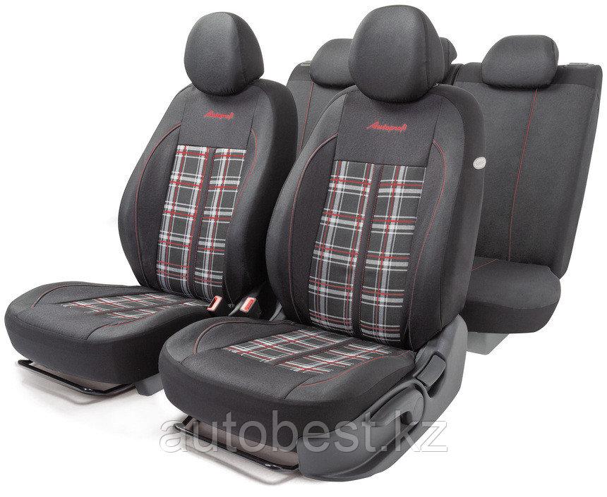 Комплект чехлов на сиденья Polo GTi, материал жаккард АВТОЧЕХЛЫ АВТОПРОФИ