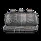 Чехлы на сиденья Comfort COM комбинированные с экокожей чехлы Автопрофи, фото 3
