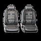 Чехлы на сиденья Comfort COM комбинированные с экокожей чехлы Автопрофи, фото 2