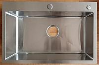 Кухонная мойка ZEUS 68х45 Нано