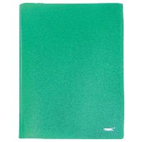 Папка Proff.Standart формат А4 с 30 файлами зеленая 0,45 мм