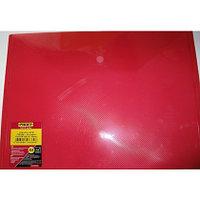 """Папка-конверт Proff А4 с кнопкой """"Clear Bag"""" полупрозрачная красная 0,20 мм"""