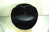 Мужская норковая шапка комбинированная