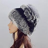 Женская шапка меховая