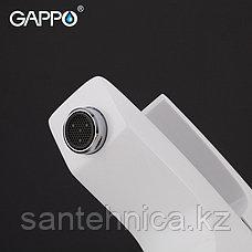 Смеситель для раковины Gappo G1007-7 белый/хром, фото 3
