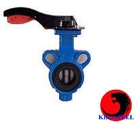 """Затвор дисковый чугунный ( Butterfly valve size 3"""" ) Dn 80 Pn1,6"""