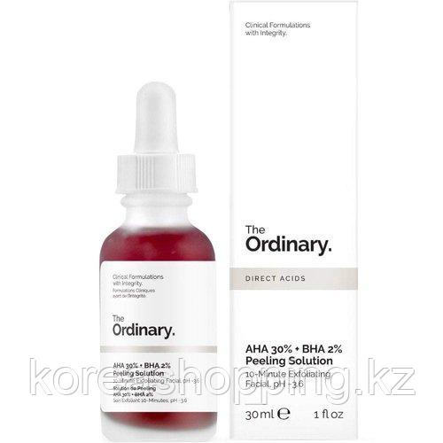 [THE ORDINARY] Кислотный пилинг AHA 30% + BHA 2% Peeling Solution
