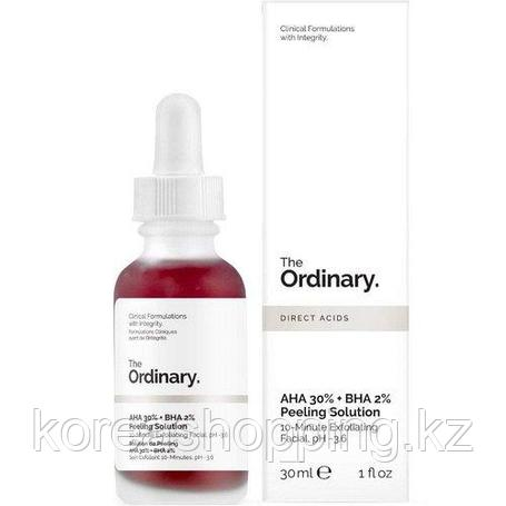 [THE ORDINARY] Кислотный пилинг AHA 30% + BHA 2% Peeling Solution, фото 2