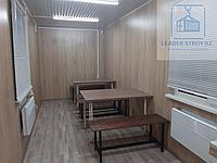 Жилой контейнер под столовую 40 фут., фото 1