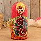 Матрёшка «Майдановская», маки, красный платок, 10 кукольная, 25 см, фото 4