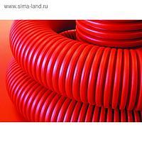Труба ПНД DKC 121963100, гофро, двустенная, с протяжкой, d=63, 100 м