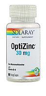 Цинк с витамином В6 и Метионином( усиленное действие). 30 мг. 60 капсул.