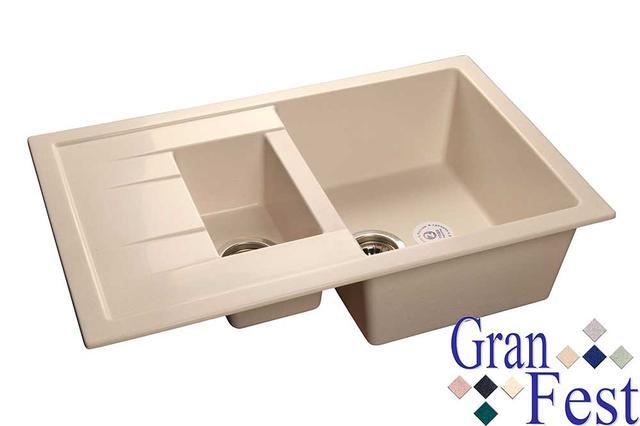 Кухонные мойки Granfest серия Quadro