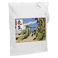 Холщовая сумка «Сэнсэй», молочно-белая, фото 1