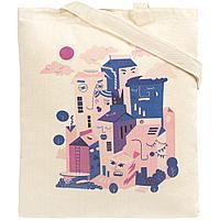 Холщовая сумка «Йогуртбург», неокрашенная, фото 1