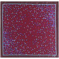 Платок Tourbillon Silk, бордовый, фото 1