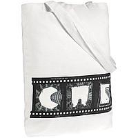 Холщовая сумка «Небо-душа», молочно-белая, фото 1