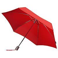 Складной зонт Alu Drop, 4 сложения, автомат, красный, фото 1
