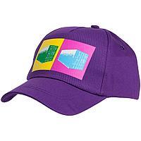 Бейсболка LogicArt, фиолетовая, фото 1