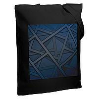 Холщовая сумка Illusion, черная, фото 1