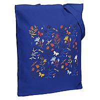 Холщовая сумка Indian Summer, ярко-синяя, фото 1