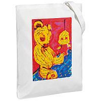Холщовая сумка I Don't See You, молочно-белая, фото 1