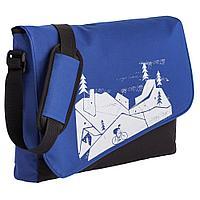 Конференц сумка «Крутой подъем», синяя