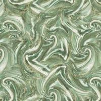 Обои Виниловые на флизелиновой основе INTERIO Девятый вал малахит 1,0610м