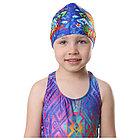 Шапочка для бассейна «На волне» детская, безразмерная, фото 3
