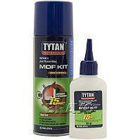 Клей двухкомпонентный цианакрилатный для МДФ 400мл+50г. TYTAN